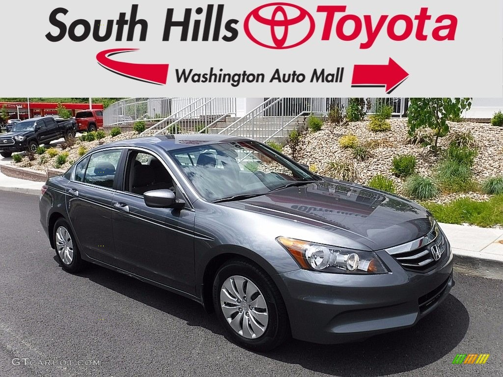 2011 Polished Metal Metallic Honda Accord Lx Sedan
