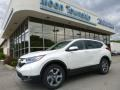 2017 White Diamond Pearl Honda CR-V EX AWD  photo #1