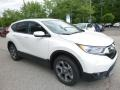 2017 White Diamond Pearl Honda CR-V EX AWD  photo #5