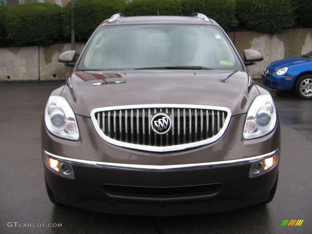 2008 Enclave CX AWD - Cocoa Metallic / Cashmere/Cocoa photo #1