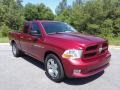 2012 Deep Cherry Red Crystal Pearl Dodge Ram 1500 ST Quad Cab  photo #4