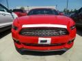 2017 Race Red Ford Mustang EcoBoost Premium Coupe  photo #2