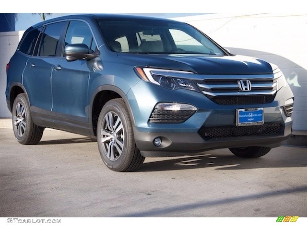 2017 Honda Pilot Colors >> 2017 Steel Sapphire Metallic Honda Pilot Ex 121117457