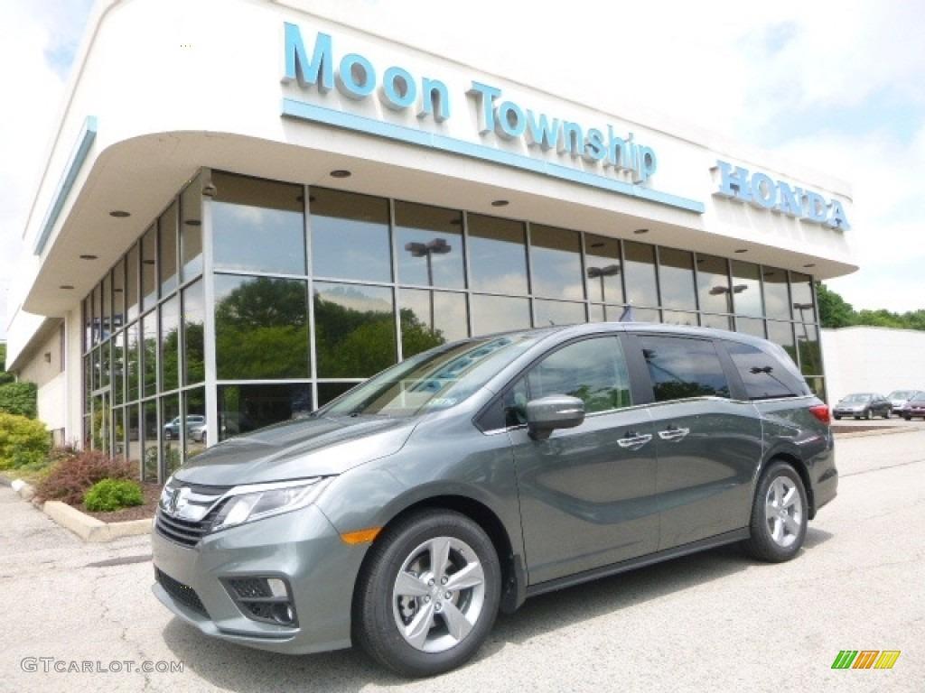 2018 Forest Mist Metallic Honda Odyssey Ex L 121132568