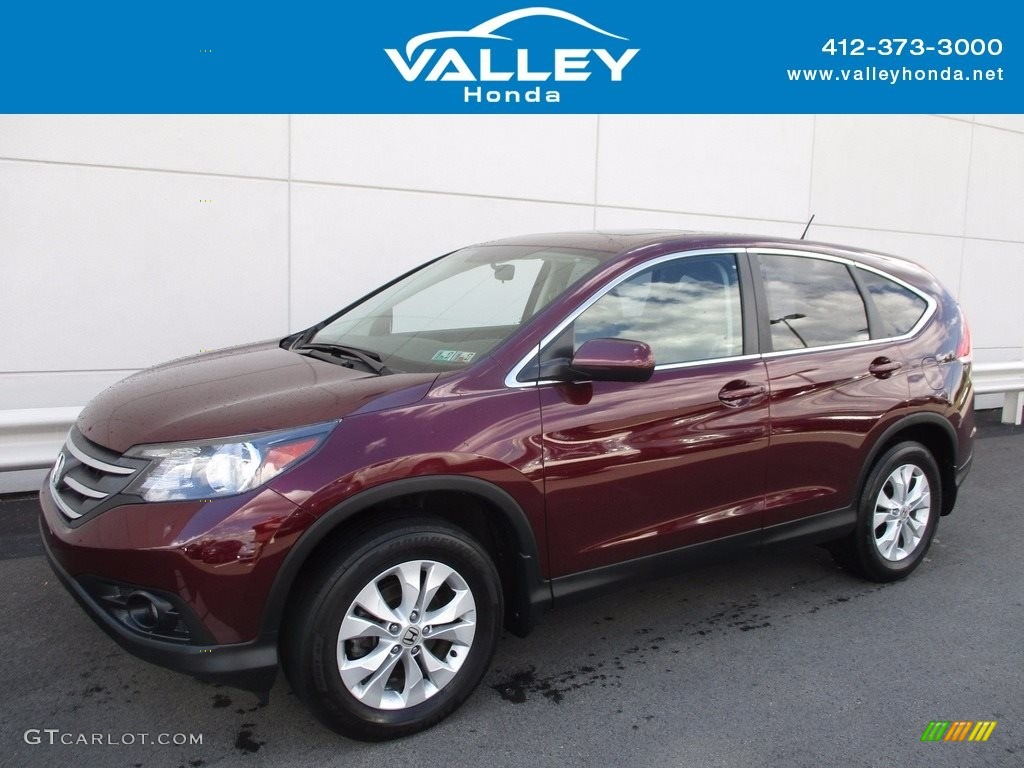 Basque Red Pearl II Honda CR-V
