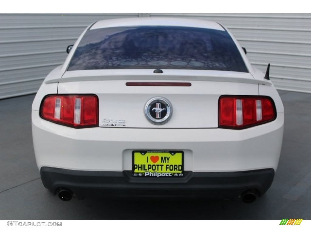 2011 Mustang V6 Premium Coupe - Performance White / Stone photo #7
