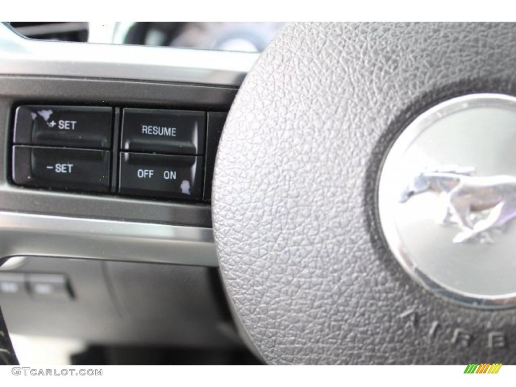 2011 Mustang V6 Premium Coupe - Performance White / Stone photo #18