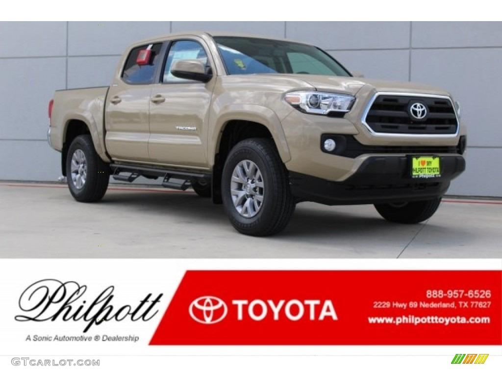 2017 quicksand toyota tacoma sr5 double cab 121149363 - 2017 toyota tacoma exterior colors ...