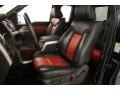 2010 F150 SVT Raptor SuperCab 4x4 Raptor Black/Orange Interior