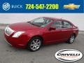 Sangria Red Metallic 2010 Mercury Milan V6 Premier