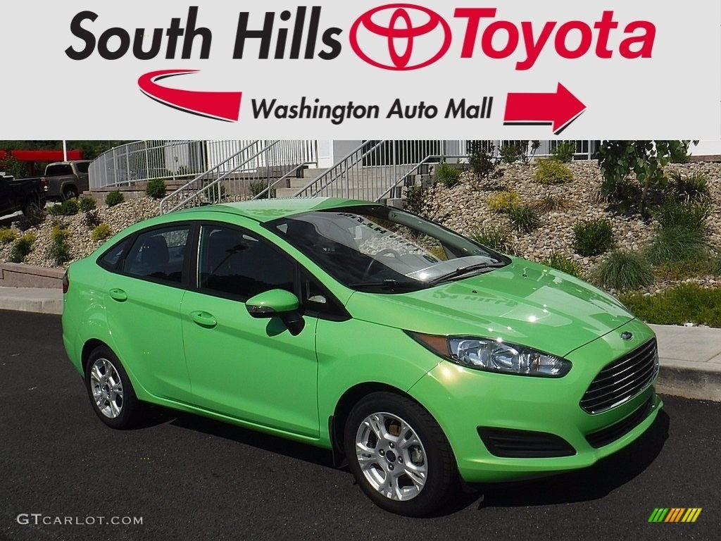 2015 Green Envy Ford Fiesta Se Sedan 121174629 Gtcarlot Com Car