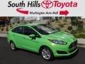 2015 Green Envy Ford Fiesta SE Sedan #121174629