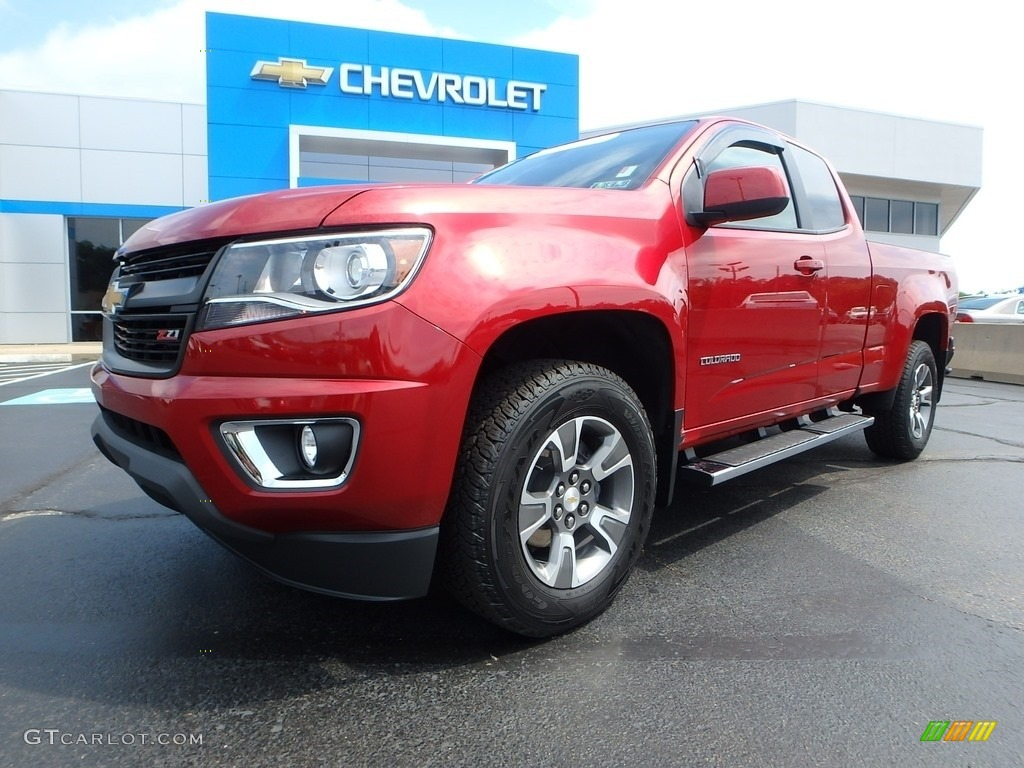 2016 red rock metallic chevrolet colorado z71 extended cab. Black Bedroom Furniture Sets. Home Design Ideas