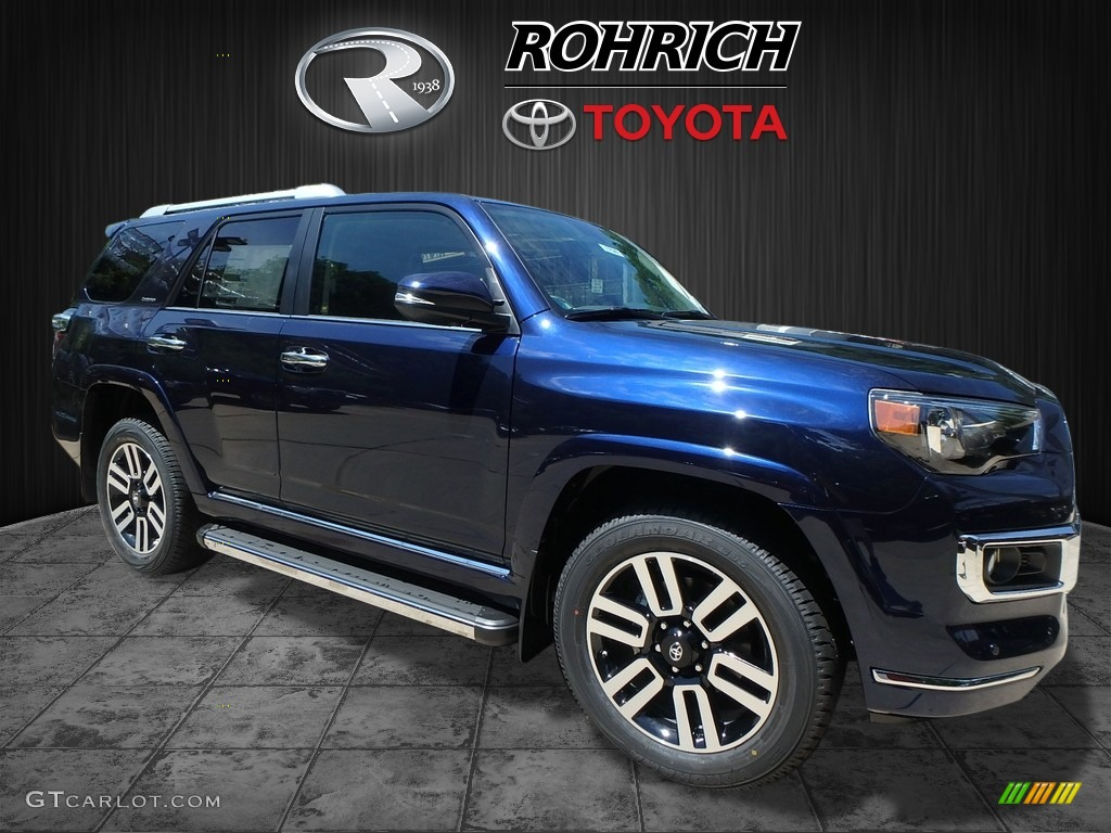 2017 nautical blue metallic toyota 4runner limited 4x4 121249069 car color. Black Bedroom Furniture Sets. Home Design Ideas