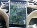 Navigation of 2014 Model S
