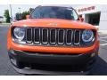 2017 Omaha Orange Jeep Renegade Latitude  photo #2
