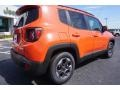 2017 Omaha Orange Jeep Renegade Latitude  photo #7