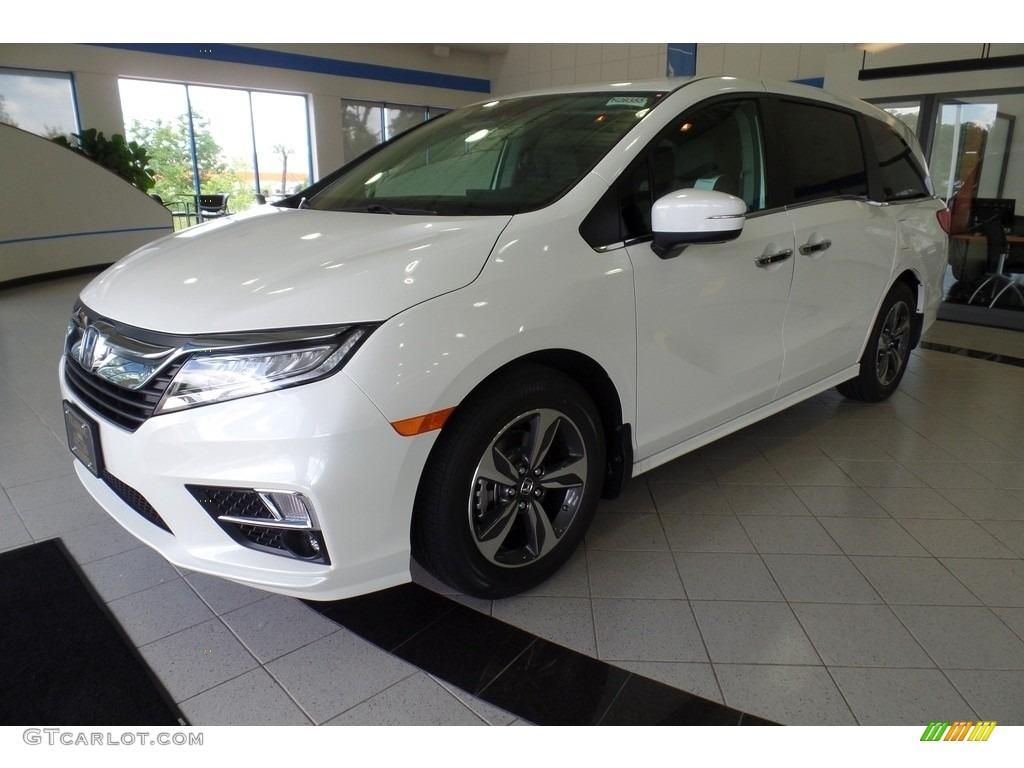 2018 White Diamond Pearl Honda Odyssey Touring 121259288 Car Color Galleries