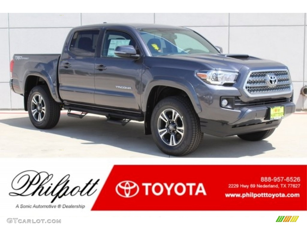 2017 magnetic gray metallic toyota tacoma trd sport double cab 121248115 photo 21 gtcarlot. Black Bedroom Furniture Sets. Home Design Ideas