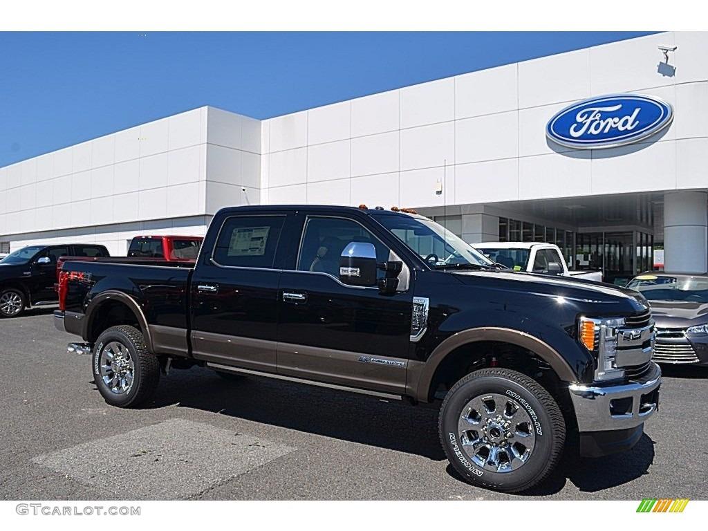2017 shadow black ford f250 super duty king ranch crew cab 4x4 121245473 car. Black Bedroom Furniture Sets. Home Design Ideas