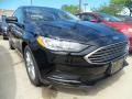 2017 Shadow Black Ford Fusion SE  photo #1