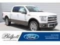 Oxford White 2017 Ford F150 King Ranch SuperCrew