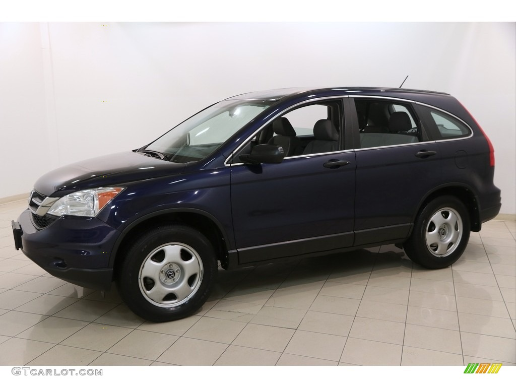 2010 CR-V LX - Royal Blue Pearl / Black photo #3