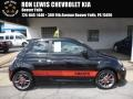 Nero (Black) 2013 Fiat 500 Abarth