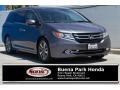 Modern Steel Metallic 2014 Honda Odyssey Touring