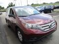 2014 Basque Red Pearl II Honda CR-V LX AWD  photo #7