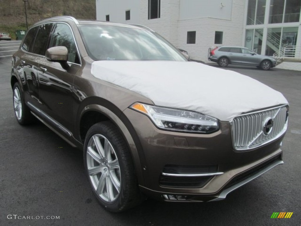 2017 Twilight Bronze Metallic Volvo XC90 T6 AWD #121258309 Photo #2 | GTCarLot.com - Car Color ...