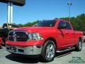 Flame Red 2014 Ram 1500 Big Horn Quad Cab 4x4