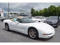 Arctic White 2004 Chevrolet Corvette Convertible
