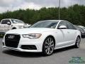 Glacier White Metallic 2013 Audi A6 3.0T quattro Sedan