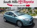2012 Frosted Glass Metallic Ford Focus SEL 5-Door #121245892