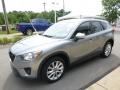 Liquid Silver Metallic - CX-5 Grand Touring AWD Photo No. 5