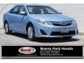 Clearwater Blue Metallic 2013 Toyota Camry Hybrid LE