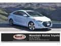 Windy Sea Blue 2013 Hyundai Elantra Coupe SE