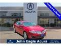 Red Candy Metallic 2010 Lincoln MKS EcoBoost AWD