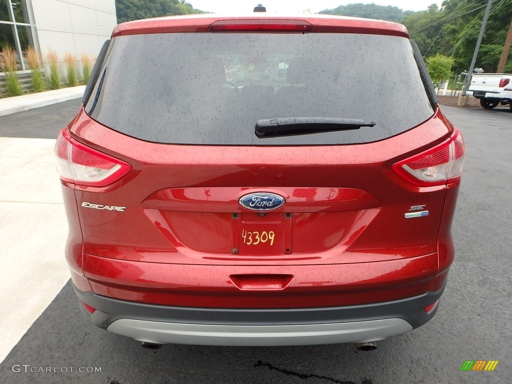2014 Escape SE 1.6L EcoBoost 4WD - Sunset / Charcoal Black photo #3
