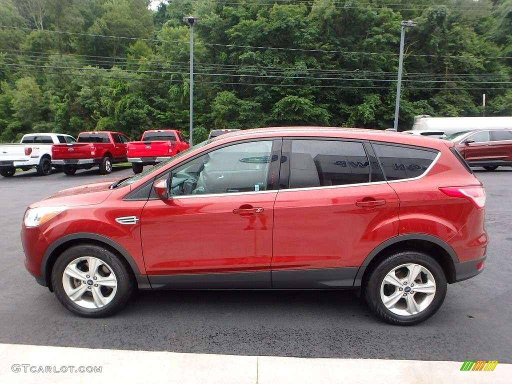 2014 Escape SE 1.6L EcoBoost 4WD - Sunset / Charcoal Black photo #6