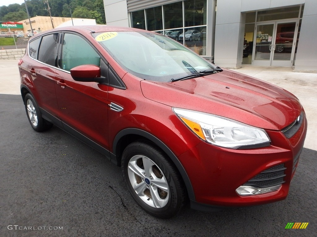 2014 Escape SE 1.6L EcoBoost 4WD - Sunset / Charcoal Black photo #9