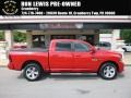 Flame Red 2013 Ram 1500 Sport Crew Cab 4x4