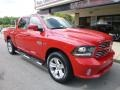 Flame Red - 1500 Sport Crew Cab 4x4 Photo No. 3