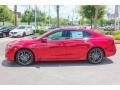 San Marino Red 2018 Acura TLX V6 A-Spec Sedan Exterior