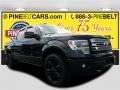 Tuxedo Black Metallic 2013 Ford F150 Limited SuperCrew 4x4