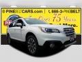 Crystal White Pearl 2017 Subaru Outback 2.5i Limited