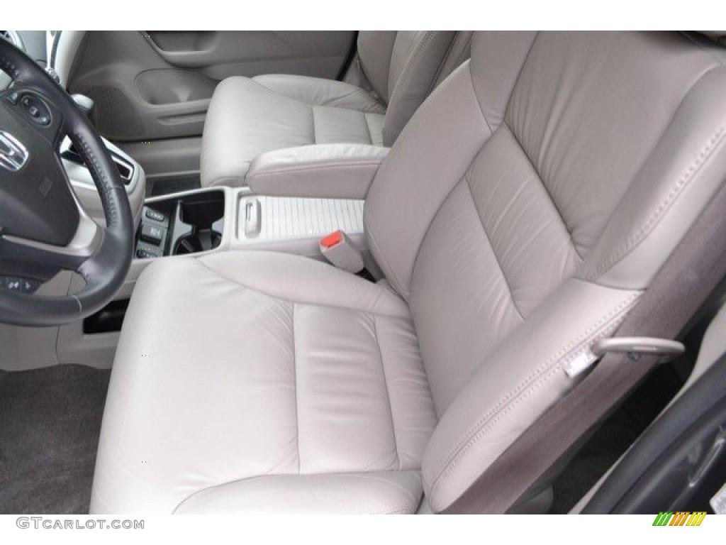 2014 CR-V EX-L AWD - Urban Titanium Metallic / Gray photo #11