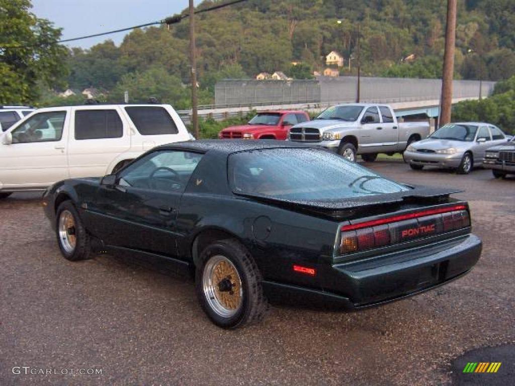 1991 Dark Green Metallic Pontiac Firebird Trans Am Gta Coupe 12138177 Photo 4