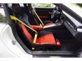 Black/Lava Orange Front Seat Photo for 2016 Porsche 911 #121664130